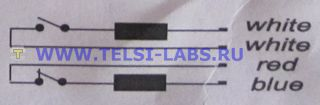 Сигнализатор герконовый SG-2 схема электрических соединений