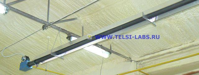 Трубчатый инфракрасный газовый излучатель SBT18i