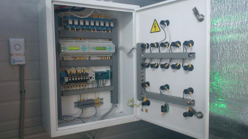 Шкаф контроля загазованности