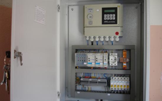 Шкаф коммерческого учета газа