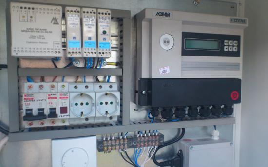 Шкаф коммерческого учета газа (ШКУГ с обогревом) - уличное исполнение