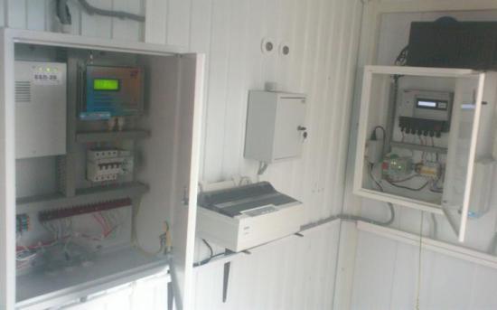 Шкафы коммерческого учета газа и телеметрии