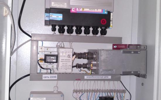 ШКУГ га базе СПГ761.2 с датчиком давления
