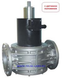 EVPS Автоматические нормально закрытые газовые клапаны с медленным открытием с датчиком положения